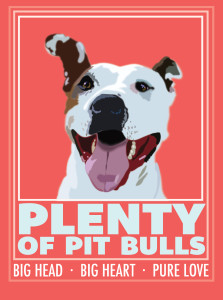 Plenty of Pit Bulls